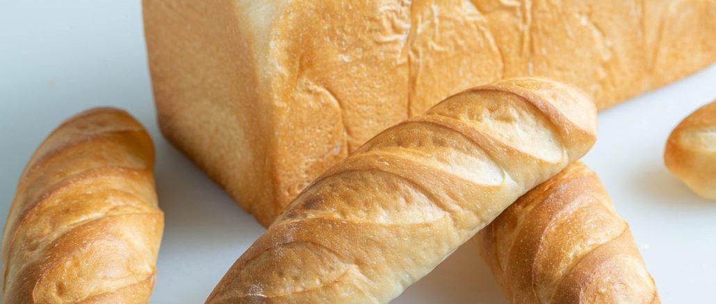 パン2種の画像