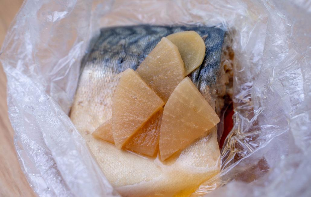 鯖の煮つけ画像